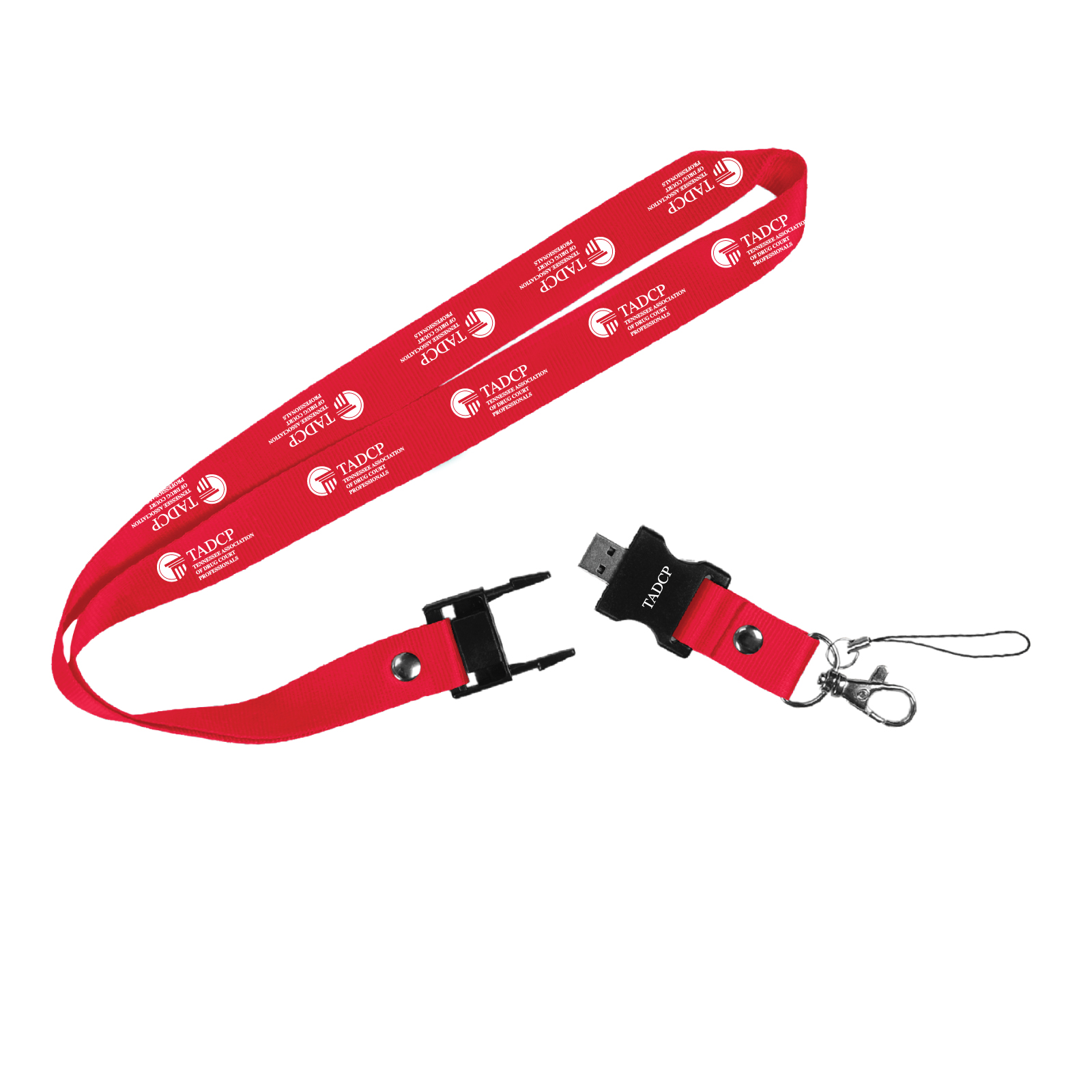 Berkeley Custom Printed Lanyard & USB - SJUSB0013 | SunJoy Group, Inc